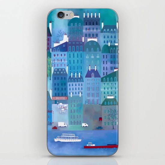 Paris Blues iPhone & iPod Skin