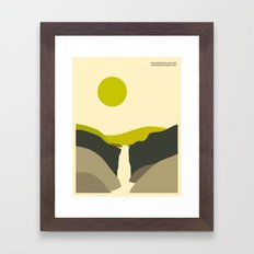 YELLOWSTONE NATIONAL PAR… Framed Art Print