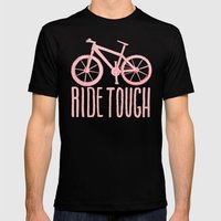 Ride Tough Mens Fitted Tee Black SMALL