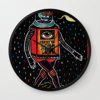 Strange Tales Of Cucacol… Wall Clock