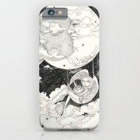 iPhone & iPod Case featuring Moon Angel by Leyla Akdogan