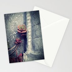 Suculent flowers Stationery Cards