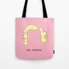 Ms. Monroe Tote Bag