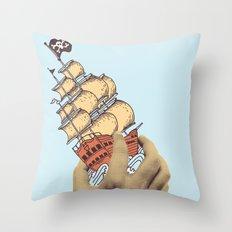 Arr! Arr! Throw Pillow