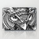 Ornate Owl Head iPad Case