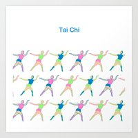 TaiChi Art Print