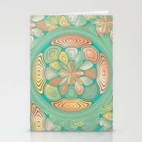 Tropical Color Abstract Stationery Cards