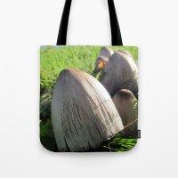 Organic Minaret Tote Bag