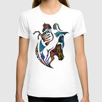 horses T-shirts featuring Horses by A Laidig
