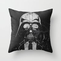 Darth Vader Gentleman Throw Pillow