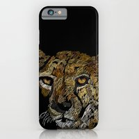 iPhone & iPod Case featuring cheetah  by JosephMills