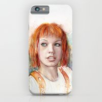 iPhone & iPod Case featuring Leeloo by Olechka
