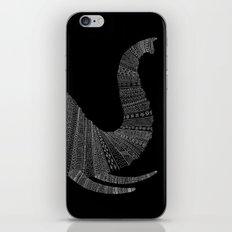 Elephant (On Black) iPhone & iPod Skin