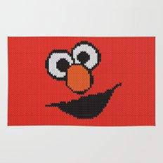 Knit Elmo Rug