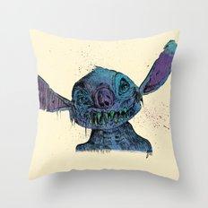 Zombie Stitch Throw Pillow