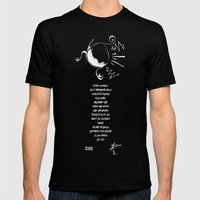SCORIE Mens Fitted Tee Black SMALL