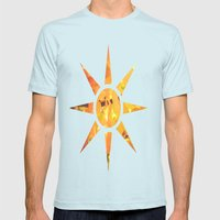 A Slice Of Autumn  Mens Fitted Tee Light Blue SMALL