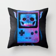 UNDEAD BOY / GAMEBOY / S… Throw Pillow