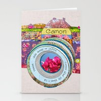 Floral Canon Stationery Cards