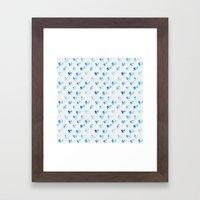 Day 001: Margot's Daily Pattern Framed Art Print