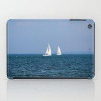 sailing away iPad Case