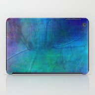 Texture Abstract Deep Bl… iPad Case