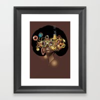 Steamfunk Framed Art Print