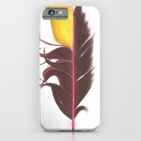 iPhone & iPod Case featuring Feather #7 by the corner Ox