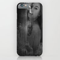 iPhone Cases featuring The only time I feel by Intothesky