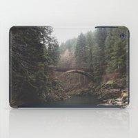 Bridge At Moulton Falls,… iPad Case