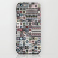 Boho Quilt Pattern 4 Slim Case iPhone 6s
