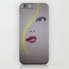 Blond Nose Eyes Lips iPhone 6 Slim Case