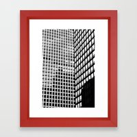 URBAN ABSTRACT 2 Framed Art Print