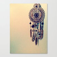 Canvas Print featuring CatchingDreams by Lindsey