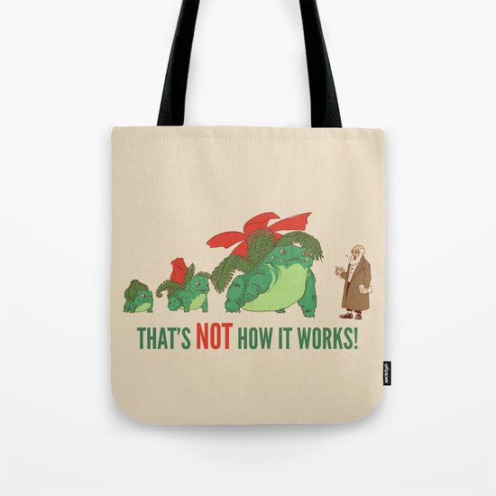 Conflicting Theories Tote Bag