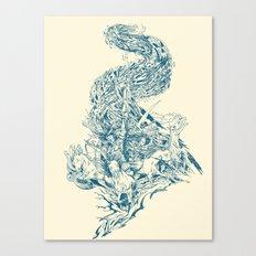 Horsemen of the Apocalypse Canvas Print