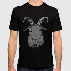 Living Deliciously SMALL Mens Fitted Tee Black