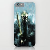 iPhone & iPod Case featuring Nazgul After The Ring - Painting Style by ElvisTR