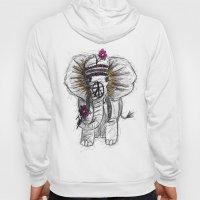 Hippie Elephant Hoody