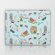 messy picnic Laptop & iPad Skin