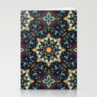 Abstract Cathedral Kaleidoscope Stationery Cards