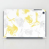 bright breezy tulips iPad Case