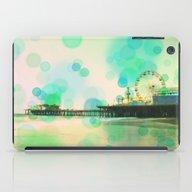 Santa Monica Pier Blue G… iPad Case
