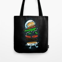 The Astronaut Burger Tote Bag