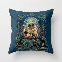 Yodhisattva Throw Pillow