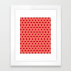 Dots collection  Framed Art Print