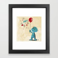 A Picture To Draw When I… Framed Art Print