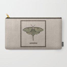 Carry-All Pouch - Luna Moth - Jessica Roux