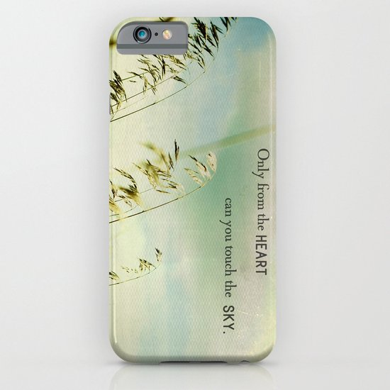 Only from the Heart iPhone & iPod Case