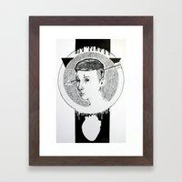 Psychopathy Framed Art Print